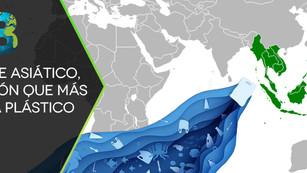 Sudeste asiático, la región donde se genera más plástico en el mundo