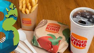 Burger King con una corona más verde: inicia su piloto de empaques ecológicos