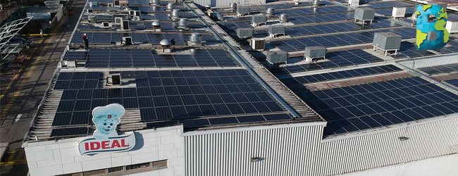 Grupo Bimbo inagura el mayor techo fotovoltaico de Chila y América del Sur