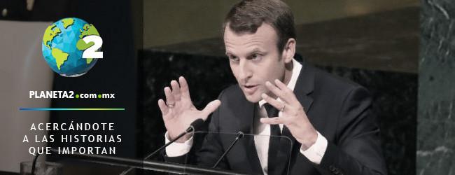 Macron rechaza acuerdos comerciales