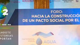 Estado de México hace pacto por el agua con el Consejo Consultivo del Agua