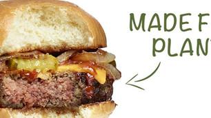 Hamburguesa sin carne pero con todo su sabor