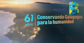 #GálapagosNuestroMundo, Islas Galápagos celebra 61 años de ser un área protegida