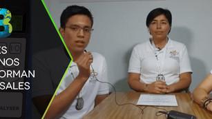 Jóvenes mexicanos crean artefacto que transforma el CO2 en sales reutilizables