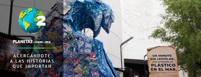 ola de plástico, senado, greenpeace