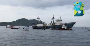 Barco 'El Diamante' será un arrecife artificial en Manzanillo