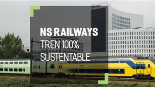NS: la compañía de tren que opera al 100% con energías renovables