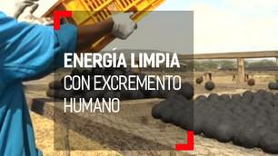 Heces humanas para crear combustible limpio y económico