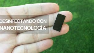 Agua desinfectada con nanotecnología