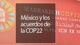 ¿Qué nos dejó la COP22 y a qué se comprometió México?