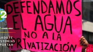 Peña Nieto aprobó la privatización del 55% del agua superficial