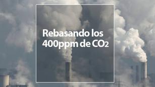 Septiembre, el mes que pasamos el umbral de los 400ppm de CO2, pero…¿qué significa?