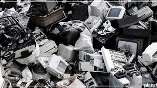 Desechos electrónicos superan las 44 millones de toneladas