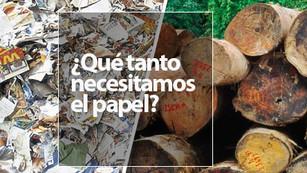 Para el 2020 se estarán produciendo 400 millones de toneladas de papel cada año