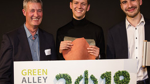 Alternativa al cuero a partir de gelatina gana el Green Alley Award 2019