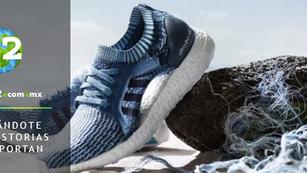 Adidas se comprometió a utilizar sólo plástico reciclado para el 2024