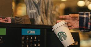 Finalmente Starbucks comenzará a probar con vasos reciclables
