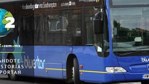 'Bluestar', el autobús que limpia el aire mientras circula