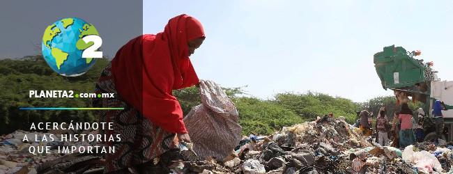 somalia recicla plástico