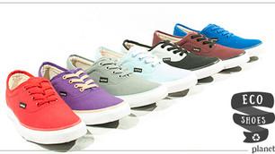 Xinca, zapatos con materiales reciclados