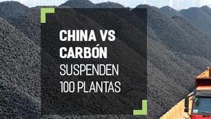 China suspende 100 proyectos de energía de carbón