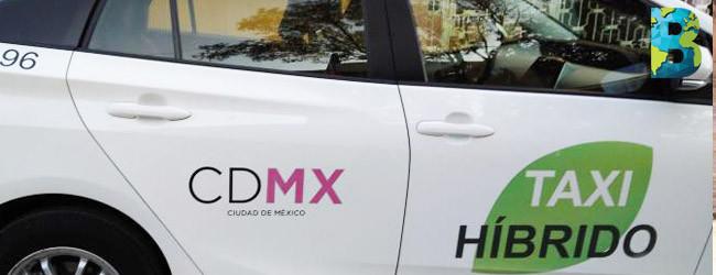 CDMX aumenta la flotilla de taxis híbridos