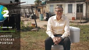 Bill Gates invierte en un inodoro inteligente sin agua y que transforma los desechos en fertilizante