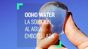 Ooho! Water, elimina las botellas de plástico y come agua