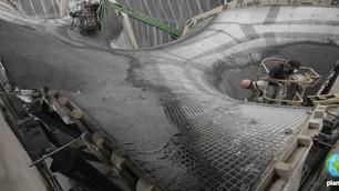 Científicos han creado un techo de concreto que genera energía solar