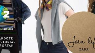 Zara, el gigante del fast fashion lanza 'Join Life', una colección con materiales reciclados