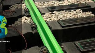 Greenrail, 'durmientes' reciclados que producen energía limpia