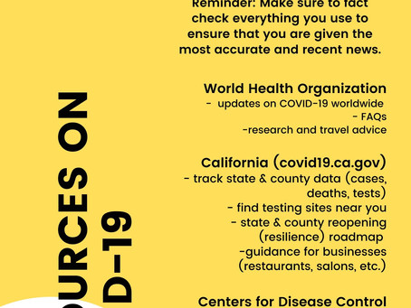 Resources on COVID-19
