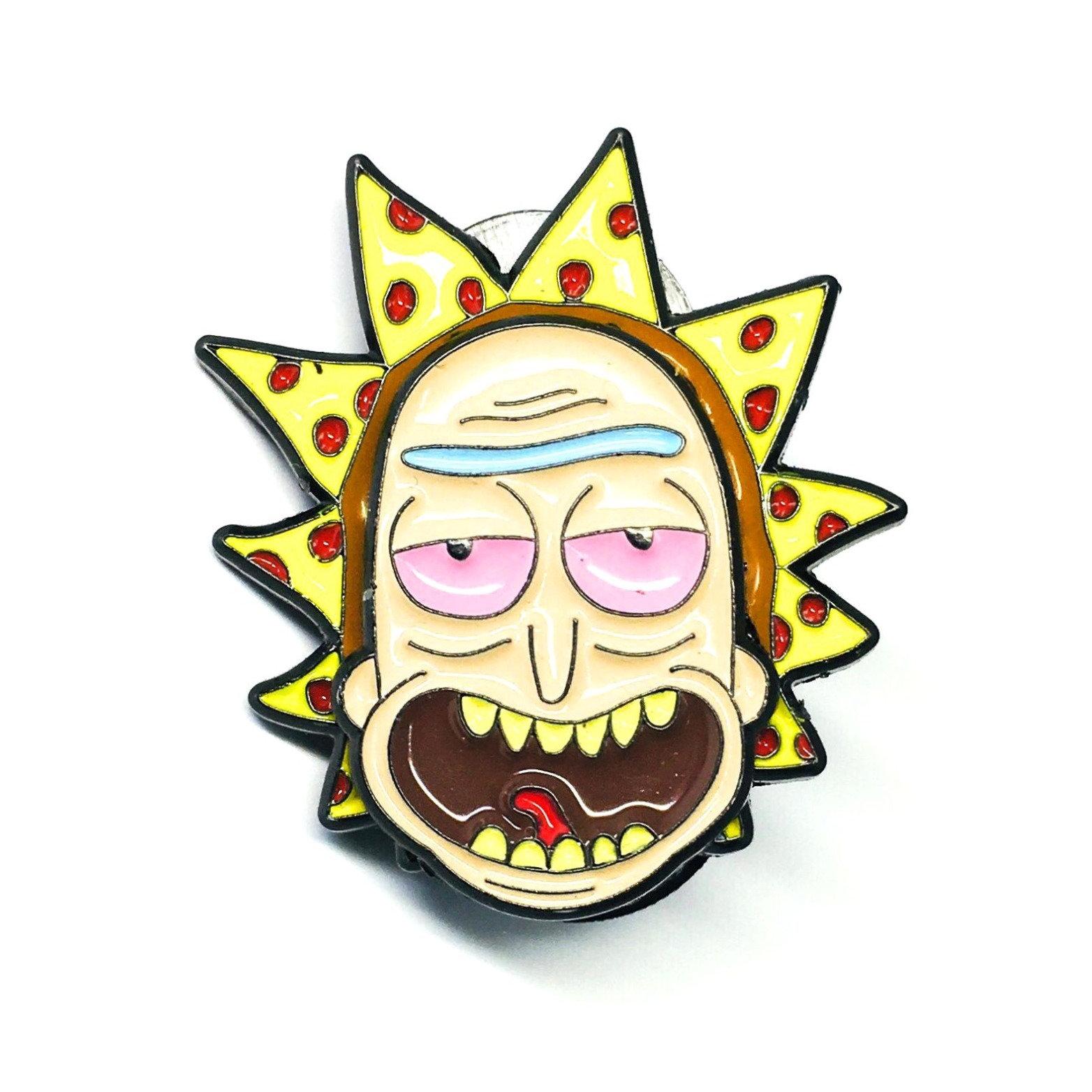 Pizza Rick Hat Pin | Pindustrial Pins
