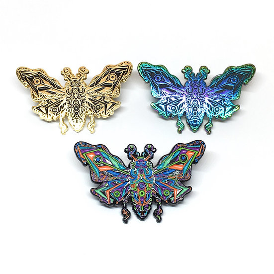 Jade Cicada Hat Pin