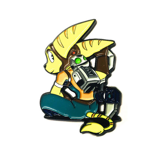 Ratchet & Clank Gamer Hat Pin