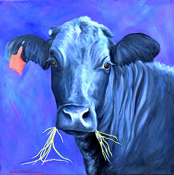 Ramey, Cow Painting, 5x5,72 res.jpg