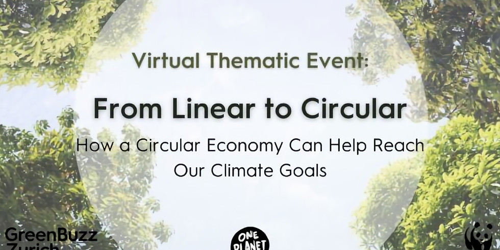 From Linear to Circular – How a Circular Economy Can Help Reach Our Climate Goals