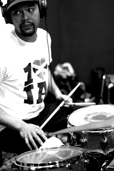 nathan drums bw.jpg