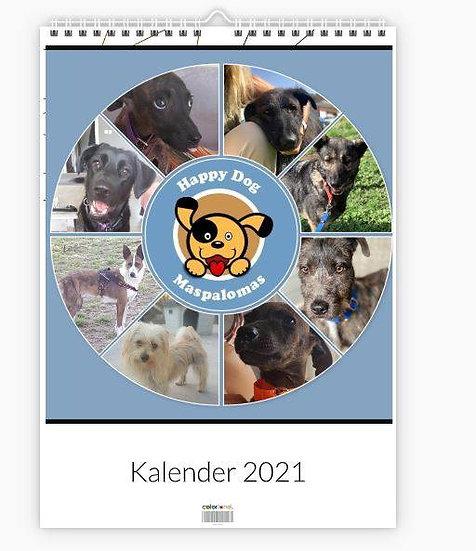Kalender 2021 HDM honden