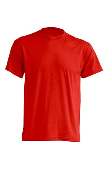 T-SHIRT REGULAR ROUGE