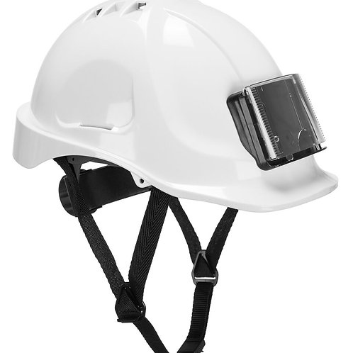 CASQUE DE CHANTIER AVEC PORTE BADGE