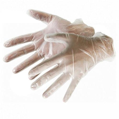 GANT VINYLE TRANPARENT boite distributrice de 100 gants