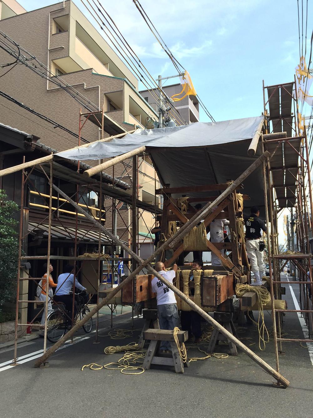 京都祇園祭鉾立て|京都 パーソナルトレーニング MOVEMENT