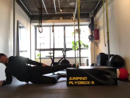 内転筋トレーニングで立ち姿勢と体のバネを良くする。