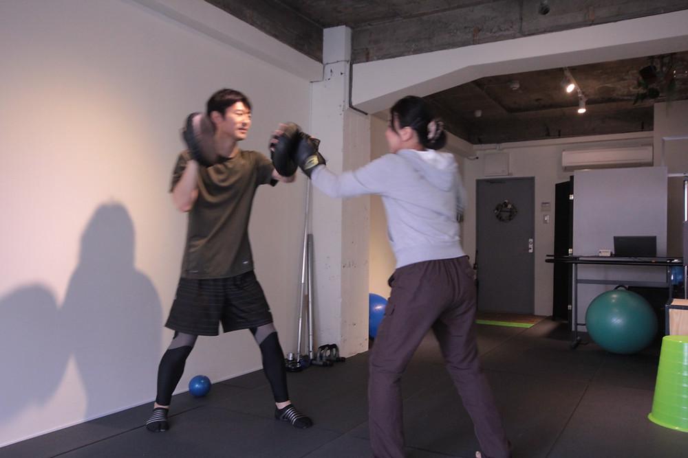京都 パーソナルトレーニング ボクササイズ