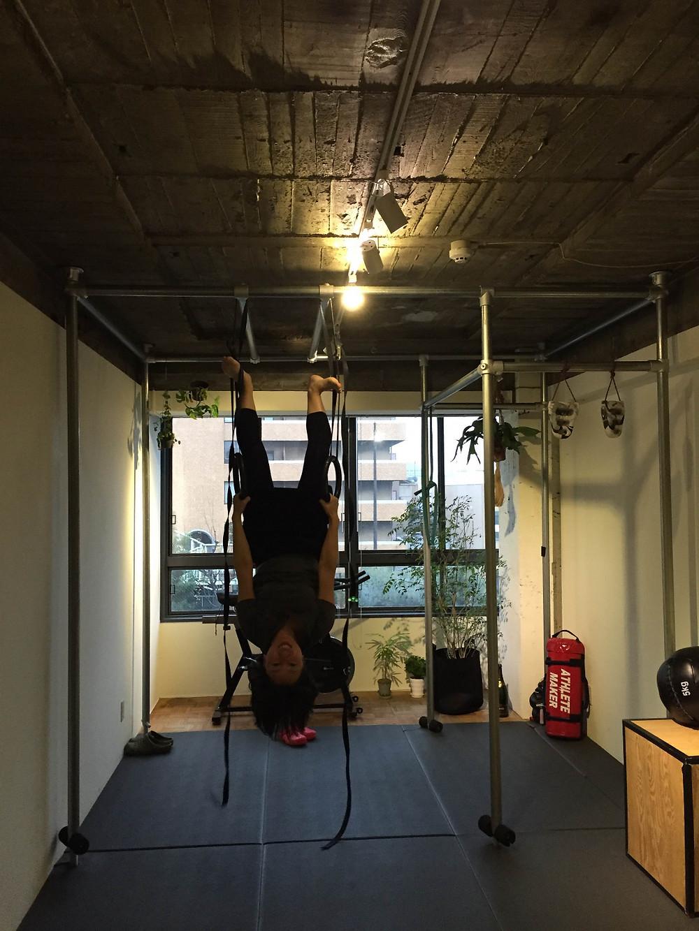吊り輪トレーニング 京都