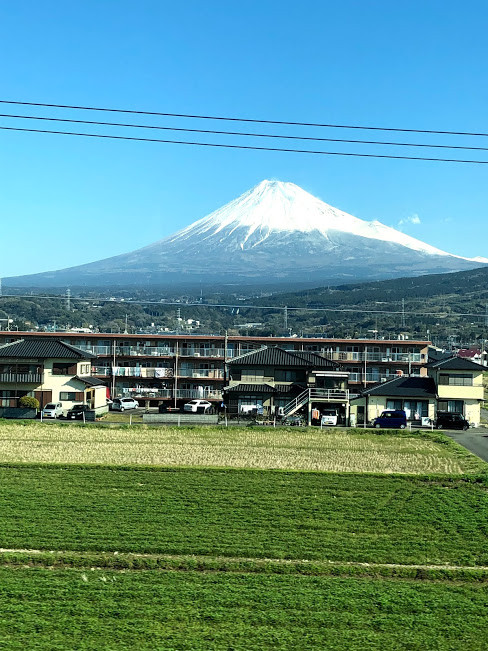 新幹線 富士山|京都 パーソナルトレーニング MOVEMENT