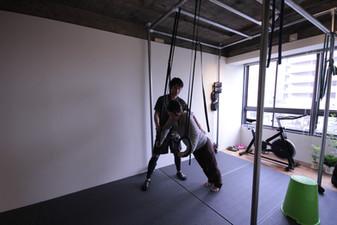 吊り輪トレーニング