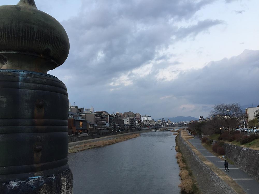 京都五条大橋弁慶と牛若丸伝説