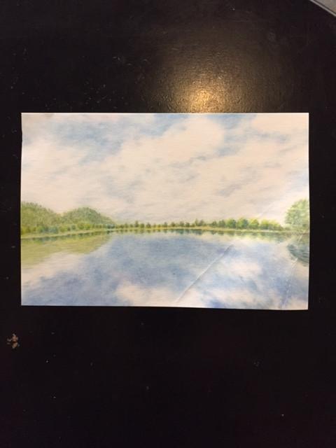 パステルシャインアートのポストカード
